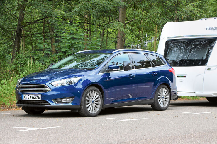 ford focus turnier 2 0 tdci im test fortf hrer alter traditionen caravaning. Black Bedroom Furniture Sets. Home Design Ideas