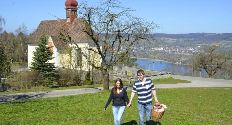 """Der Landkreis Konstanz veröffentlicht die Broschüre """"Bodensee-Kirchenbesucher"""". Darin stehen die schönsten Orte der Region."""