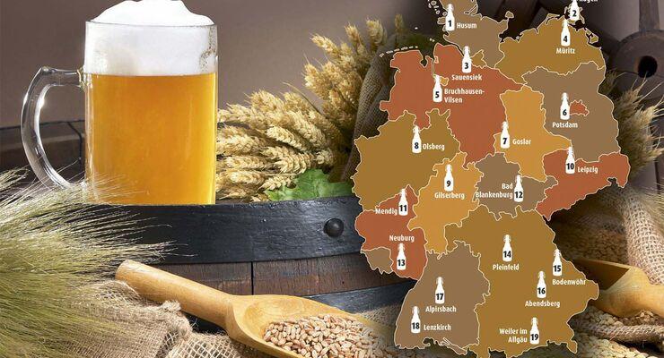 Deutschland feiert 500 JAHRE REINHEITSGEBOT für das Lieblingsgetränk (fast) aller Camper.