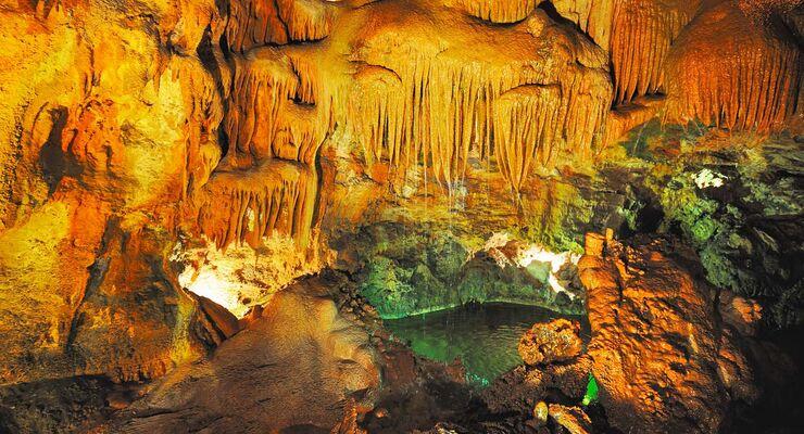 Die schönsten Höhlen Portugals