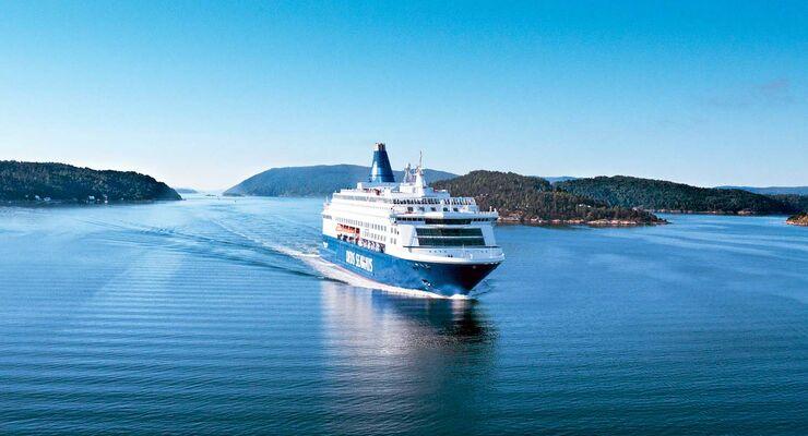 Fähre von DFDS Seaways