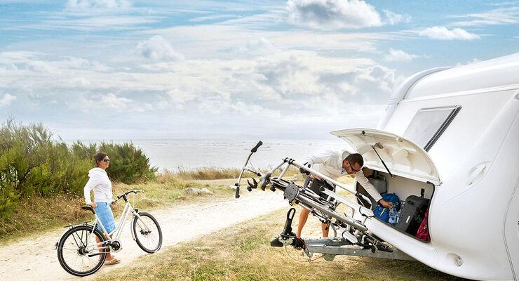 E Bikes Fahrrad Mitnahme Caravaning