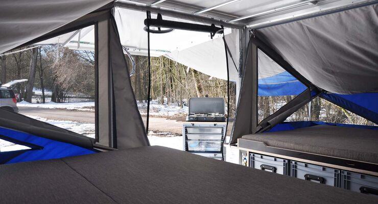 Farfall Camper Version4 Bett