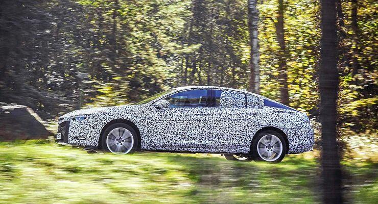 Fast 200 Kilogramm leichter und geräumiger: die neue Opel-Insignia-Limousine mit dem Beinamen Grand Sport.