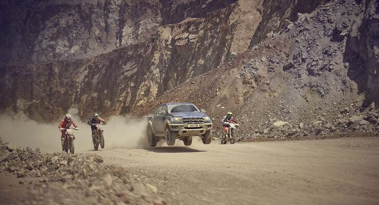 Ford Ranger Raptor Seite