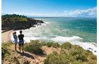 Fußweg über die Steilküste bei Collioure