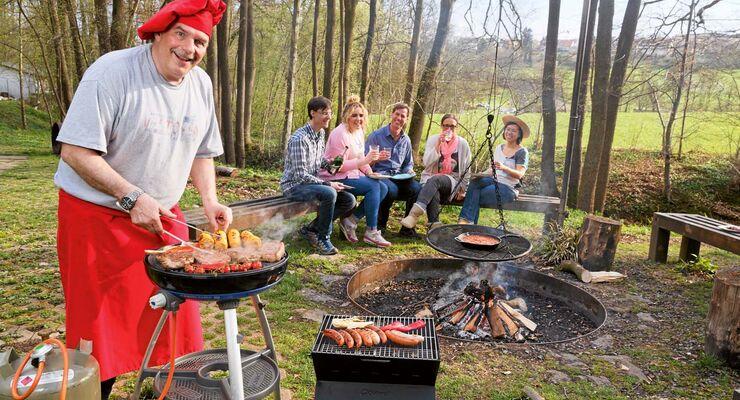 Gas Oder Holzkohlegrill Yorkshire : Grillgeräte im test: vor und nachteile der grill methoden caravaning