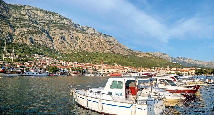 Hafen von Makarska
