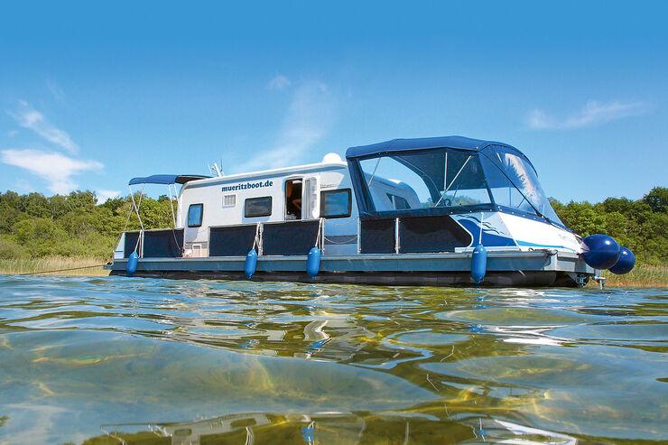 Hausboot-Urlaub in Mecklenburg