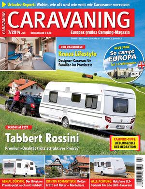 Heft Caravaning Ausgabe 04-2014