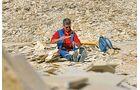 Hobby-Archäologen lieben die Suche nach Fossilien.