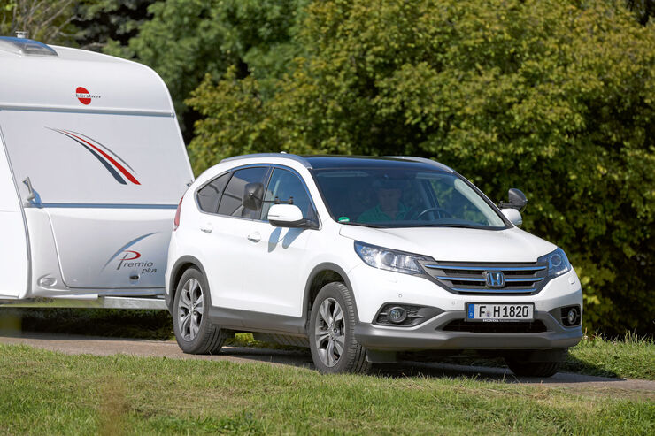 honda cr v 2 2 4wd im zugwagen test caravaning. Black Bedroom Furniture Sets. Home Design Ideas