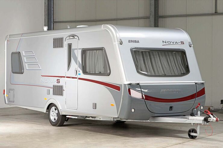 hymer eriba nova ein guter gebraucht caravan caravaning. Black Bedroom Furniture Sets. Home Design Ideas