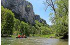 In Hausen im Tal ist die erste Einstiegsstelle für Paddeltouren auf der jungen Donau