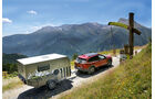 Jeep auf der Ex-Militärstraße Colle dell` Assietta.
