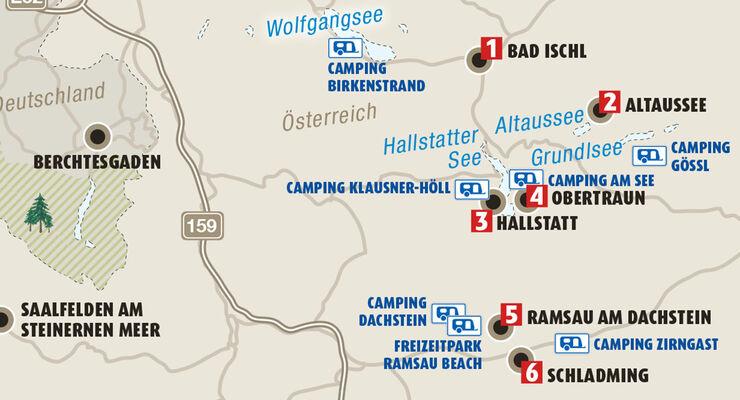 Dachstein Karte.Die Sechs Schönsten Orte Rund Um Den Dachstein Seite 2 Caravaning