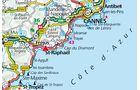 Karte Esterel Caravaning