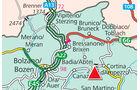 Karte Region Sass Dlacia