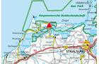 Karte Region Zingst