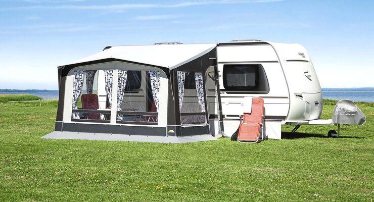 caravan salon 2018 neues camping zubeh r caravaning. Black Bedroom Furniture Sets. Home Design Ideas