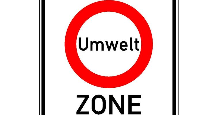 Nach München dürfen nur noch Fahrzeuge mit der grünen Umweltplakette fahren. Alte Dieselfahrzeuge brauchen Partikelfilter.