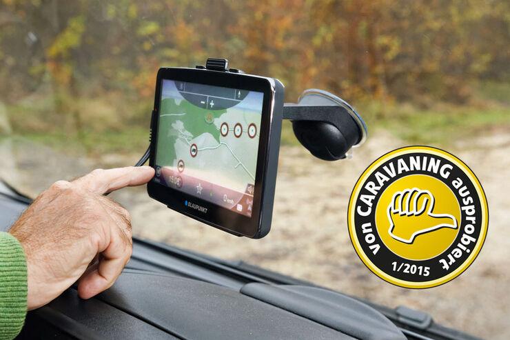 Navigationsgerät von Blaupunkt im Test