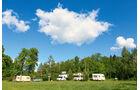 Nordost-Polen, Masuren, Campingplatz