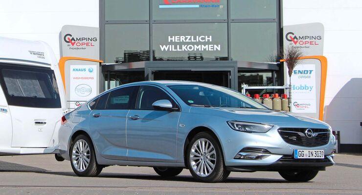 Opel Insignia im Zugwagen-Test