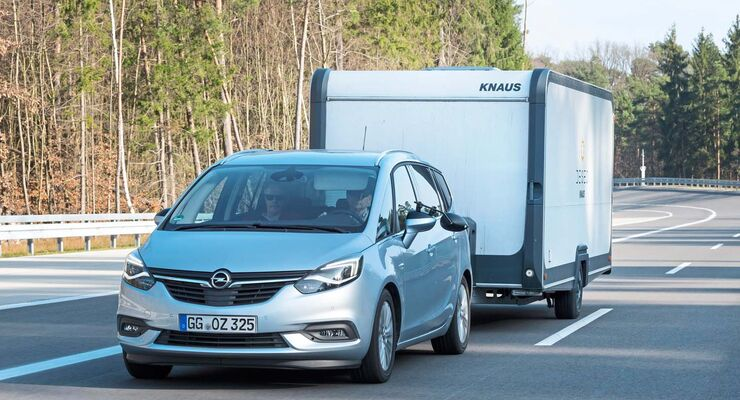 zugwagen-test: opel zafira innovation: der praktische - caravaning
