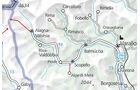 Piemont, Karte