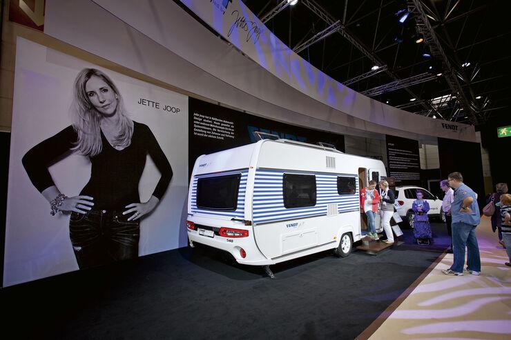 Premiere: Neuheiten auf dem Caravan-Salon