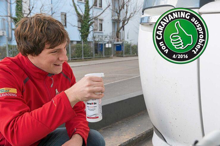 Reinigungsmittel Spray'N Go im Test