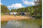 Reise: Mecklenburgische Seen, Campingplatz Hexenwäldchen