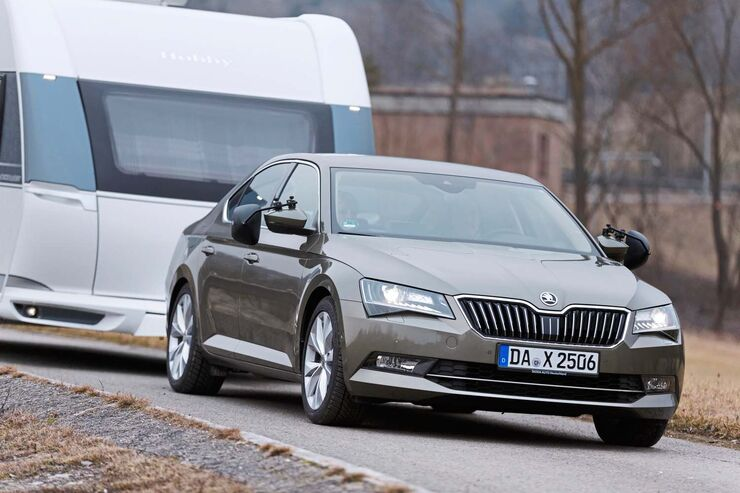 Skoda Superb 2.0 TDI 4x4