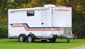 f nf transport caravans im caravaning vergleichstest caravaning. Black Bedroom Furniture Sets. Home Design Ideas