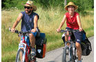 Sportlich: In Burgund sind viele Radwanderer unterwegs
