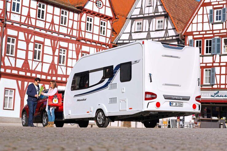 Sprite Mondial 420 SE im Test: Ohne Festbett - Caravaning