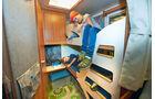 Stockbett im Caravan