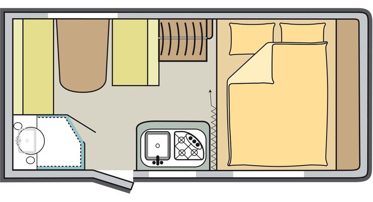 Test Sterckeman Skizze Innenraumaufteilung