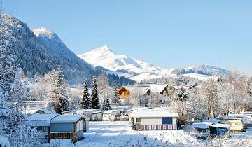 Tirol-Camp in Fieberbrunn im Winter