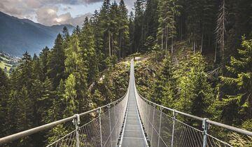 Trentino Hängebrücke