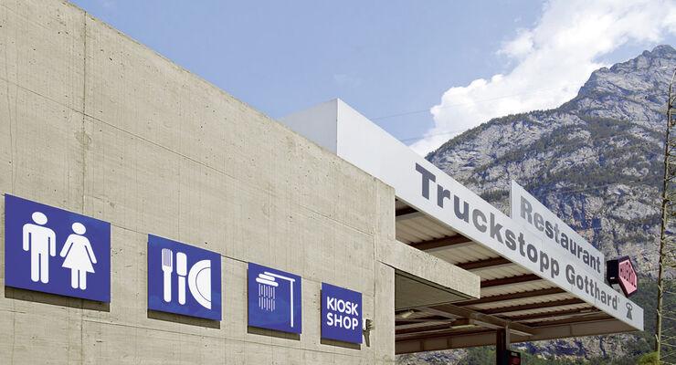 Truckstopp Gotthard