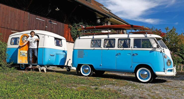 camping oldies restaurierter vw t1 und westfalia typ 310 4 caravaning. Black Bedroom Furniture Sets. Home Design Ideas