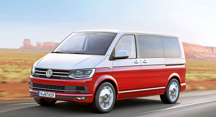 volkswagen t6 im caravaning test vertraute erscheinung. Black Bedroom Furniture Sets. Home Design Ideas