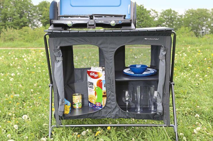 10 x faltbaresCamping-Zubehör: Platzsparende Caravan-Ausstattung
