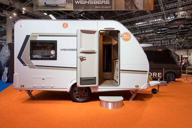 Weinsberg Caraone 390 PUH (2020): Kompaktcaravan mit Hubbett - Caravaning