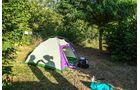 Zelten in Frankreich