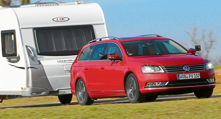 der neue vw passat variant im caravaning test caravaning. Black Bedroom Furniture Sets. Home Design Ideas