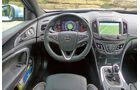 Zugwagen: Test, Opel Insignia, Displays