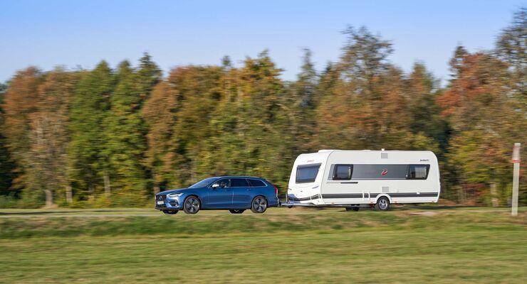 Zugwagen Test In Der Oberklasse Volvo V90 D5 Awd Caravaning
